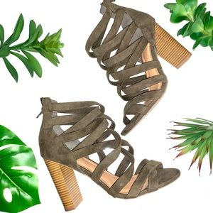 charlotte russe strappy heel